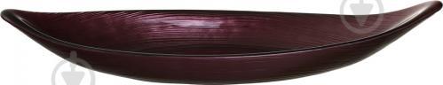 Блюдо Лодочка 32х11 см бургунди Arda Cam - фото 3