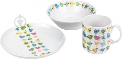 Набор детской посуды WALDENBURG Совы 3 предмета - фото 7