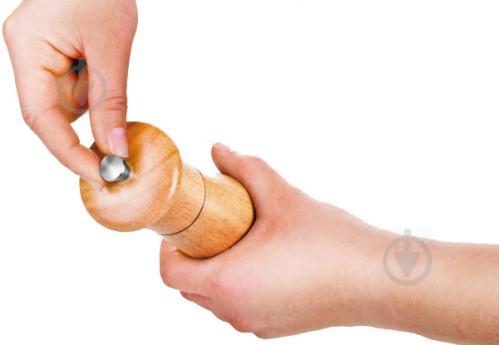 Мельница для соли и перца Virgo Wood 18 см 658221 Tescoma - фото 7