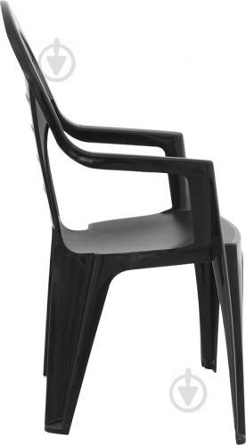 Стул пластиковый Curver Bonaire 218093 93x56x57 см антрацит - фото 7