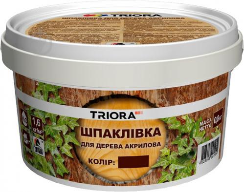 Шпаклевка для дерева Triora ольха 400 г - фото Шпаклевка для дерева Triora ольха 400 г - фото 3