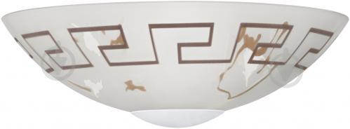 Светильник настенно-потолочный Eglo TWISTER 82878 1x60 Вт E27 белый матовый - фото 2