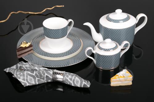 Сервиз для чая Spheric New 15 предметов на 6 персон Fiora - фото 3