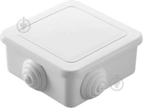 Коробка распределительная Makel с крышкой ABS-пластик 10028 - фото 3