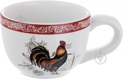 Чашка с блюдцем Петух 250 мл 358-705 - фото 6
