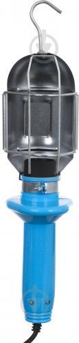Светильник переносной Electraline 2 х 0,75 5 м 60 Вт синий - фото 8