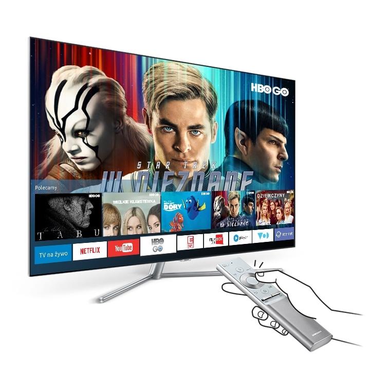 Телевизор Samsung UE55M5602 - фото Smart Hub