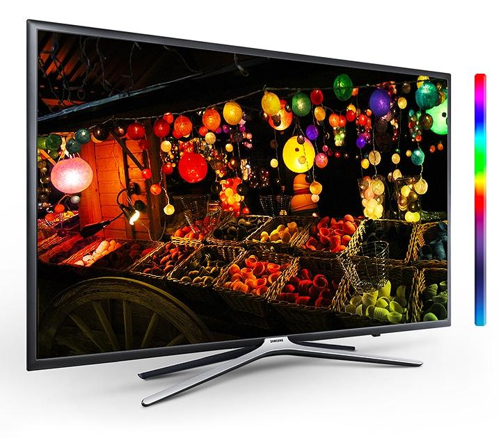 Телевизор Samsung UE55M5602 - фото ТеÑÐ½Ð¾Ð»Ð¾Ð³Ð¸Ñ PurColour