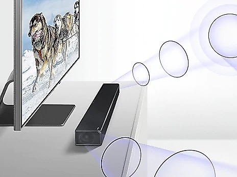side-firing speakers