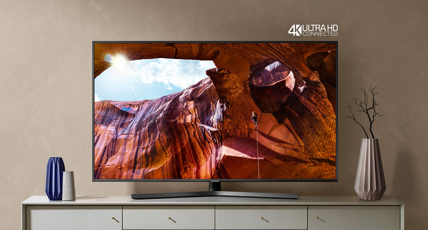 Телевизор SAMSUNG UE50RU7472 (2019г) 4K UHD 3840 x 2160, SMART TV, PQI (Picture Quality Index) 2000, HDR 10+, DVB-T2CS2 - фото Dynamic color, powerful content