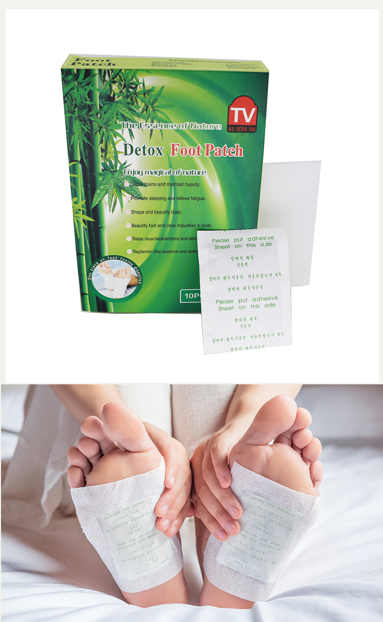High quality natural herbal gold slimming detox foot pad for wholesales