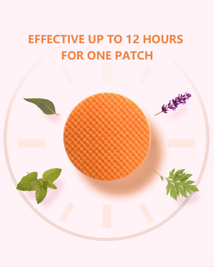 Wholesale 1000bag/lot orange mosquito repellent patch and super low price