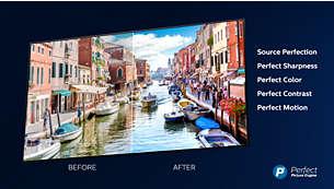 Телевизор Philips 65PUS7304/12 4K UHD LED на базе ОС Android TV - фото Процессор Philips P5: превосходное качество с любого источника.