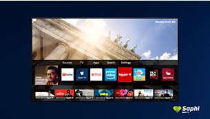 Коллекция Philips TV. Netflix, Prime Video и многое другое.