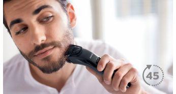 Тример для бороди та вусів Philips QT4005/15 - фото До 45минут автономной работы после 10часов зарядки
