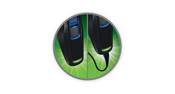 Машинка для стрижки PHILIPS HC3418/15 - фото 40 минут автономной работы после зарядки в течение 8 часов