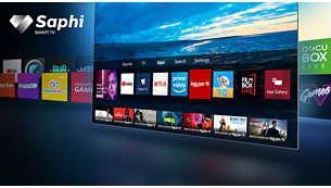 Доступ к приложениям, включая Netflix и Prime Video, одной кнопкой.