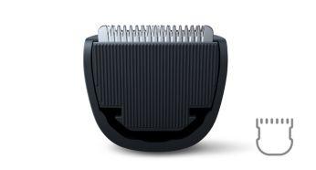 Тример для бороди та вусів Philips QT4005/15 - фото Лезвия из нержавеющей стали долго остаются острыми