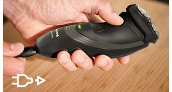 Электробритва Philips S1520/04 - фото Только беспроводной режим