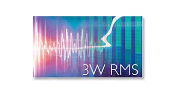 Магнитола AZ215G/12 - фото Общая выходная мощность 3 Вт RMS