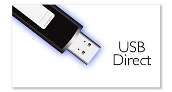 Прямой USB для воспроизведения музыки MP3/WMA
