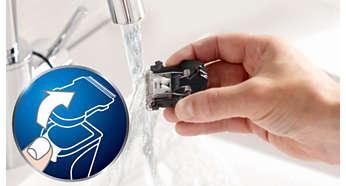 Машинка для стрижки PHILIPS HC5438/15 - фото Съемные лезвия для удобной очистки