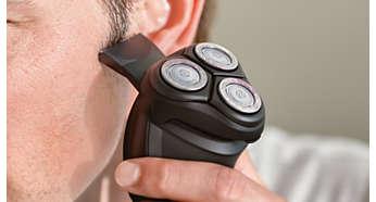 Электробритва Philips S1520/04 - фото Идеально для подравнивания висков и усов