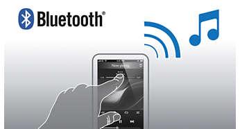 Беспроводная передача музыки со смартфона через Bluetooth™