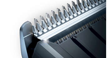 Машинка для стрижки PHILIPS HC5438/15 - фото Самозатачивающиеся лезвия из стали долго остаются острыми