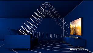 Телевизор Philips 65PUS7304/12 4K UHD LED на базе ОС Android TV - фото Dolby Vision и Dolby Atmos. Кинематографичное изображение и звук.