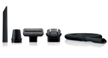 Автомобільний пилосос Philips MiniVac FC6141/01 - фото Широкий выбор аксессуаров для различных функций