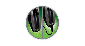 Машинка для стрижки PHILIPS HC5438/15 - фото 8часов зарядки — 75минут автономной работы