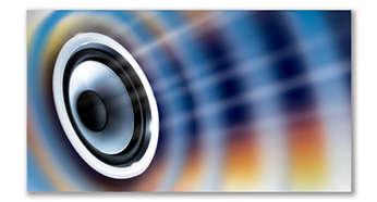 Технология MAX Sound для мгновенного усиления мощности звучания