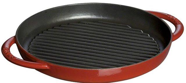 Сковороды гриль - фото Литые ручки