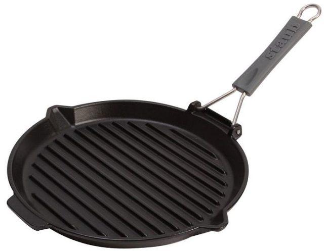 Сковороды гриль - фото Высота ребер
