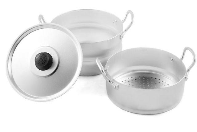 Алюминиевая посуда - фото Для макарон