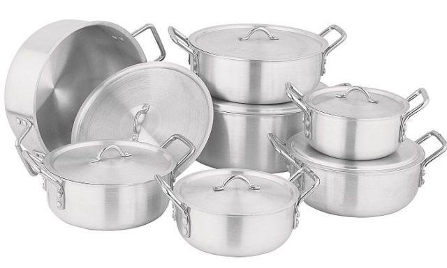 Алюминиевая посуда - фото Алюминиевые кастрюли