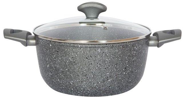 Алюминиевая посуда - фото Каменная кастрюля