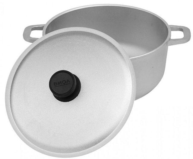 Алюминиевая посуда - фото Литой алюминий