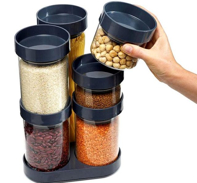 Емкости для хранения продуктов - фото Набор