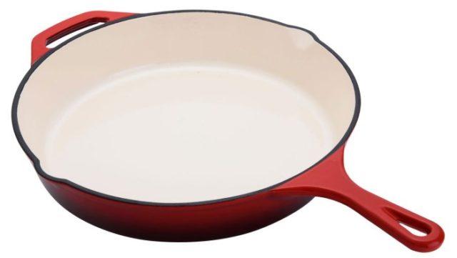 Cковороды (чугун) без покрытия - фото Эмаль