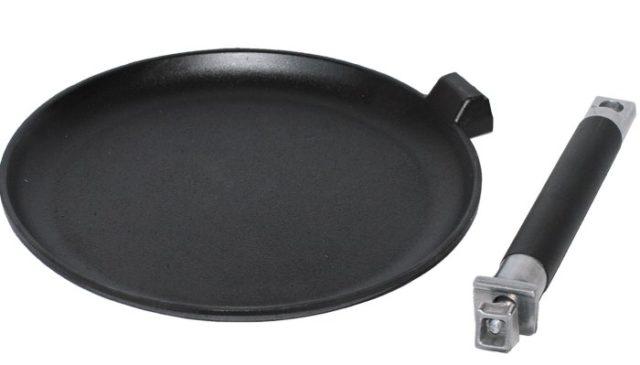 Cковороды (чугун) без покрытия - фото Блинная сковорода