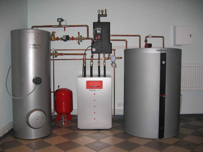 Монтаж газовых котлов. - фото подключение газовых котлов отопления