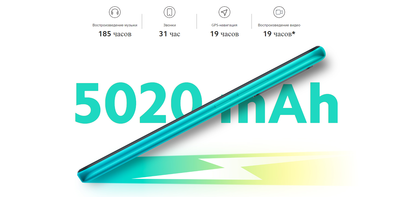 Смартфон XIAOMI Redmi 9 4/64GB Carbon Grey NFC, фото 7