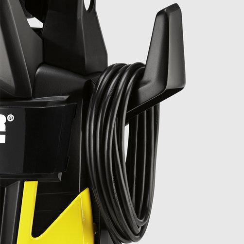 Міні-мийка K 5: Акуратне зберігання кабеля на спеціальному гачку