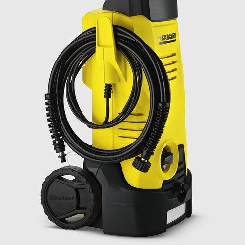 Міні-мийка K 3: Акуратне зберігання кабеля на спеціальному гачку