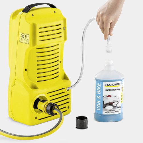 Міні-мийка K 2 Compact: Потужність, достатня для очищення