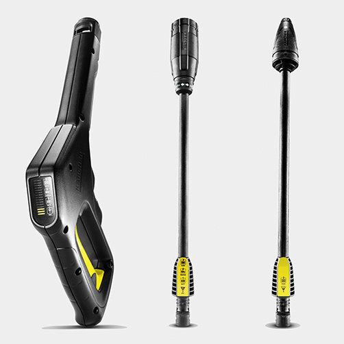Міні-мийка K 3 Full Control Car: Пістолет Full Control і струменеві трубки