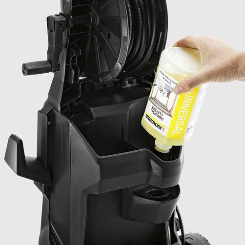 Міні-мийка K 7: Система забору хімії Plug 'n' Clean