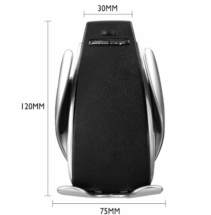 Автомобильная беспроводная зарядка-держатель с сенсорным датчиком Smart Sensor Car Wireless Charge - фото 5